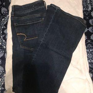 American Eagle women's artist flare jeans